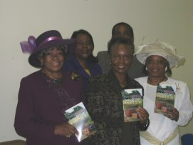 Readers at November 2004 Book Signing at Rock Grove AME Zion Church in Rock Hill, SC